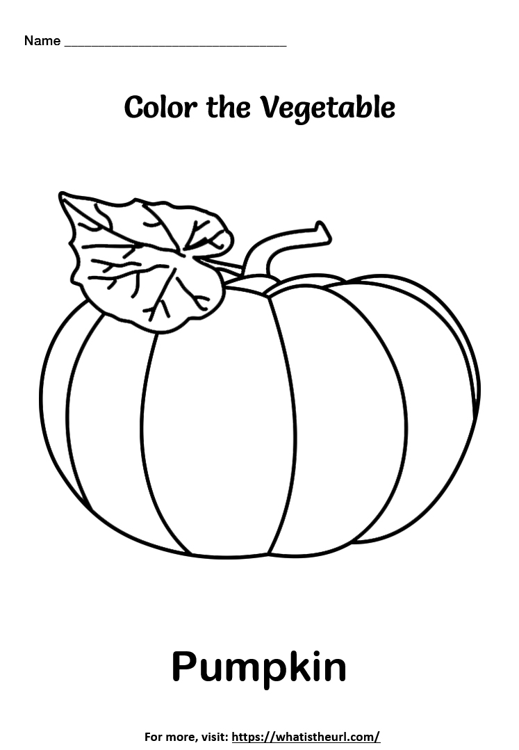 Vegetable Coloring Worksheets Your Home Teacher