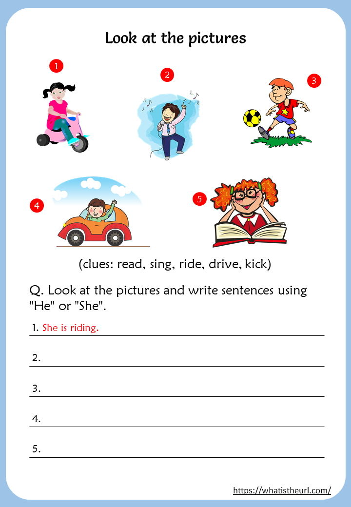 Action Verbs Worksheets For 3rd Grade - Your Home Teacher