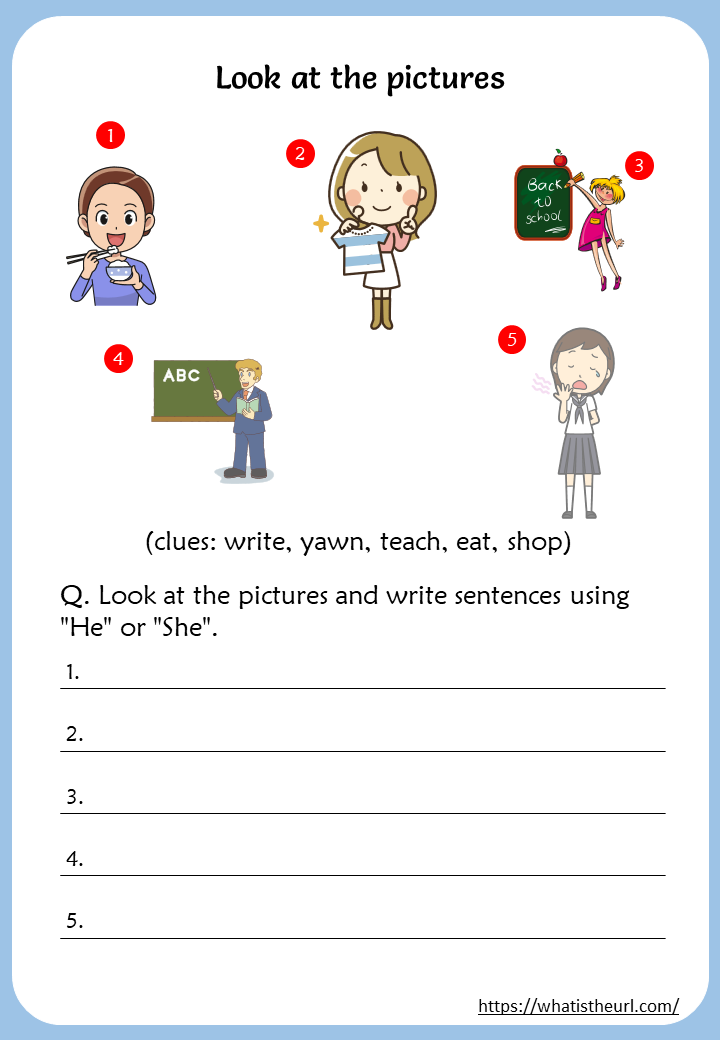 Action Verbs Worksheets For 2nd Grade - Your Home Teacher