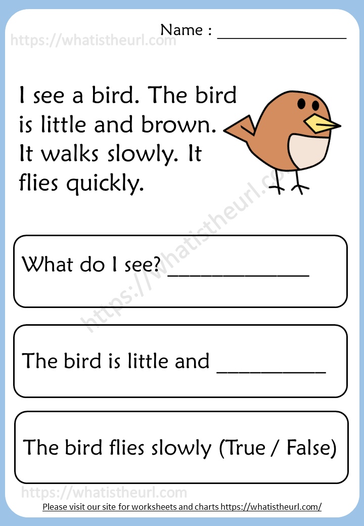 Reading Comprehension Worksheets For 2nd Grade - Your Home Teacher