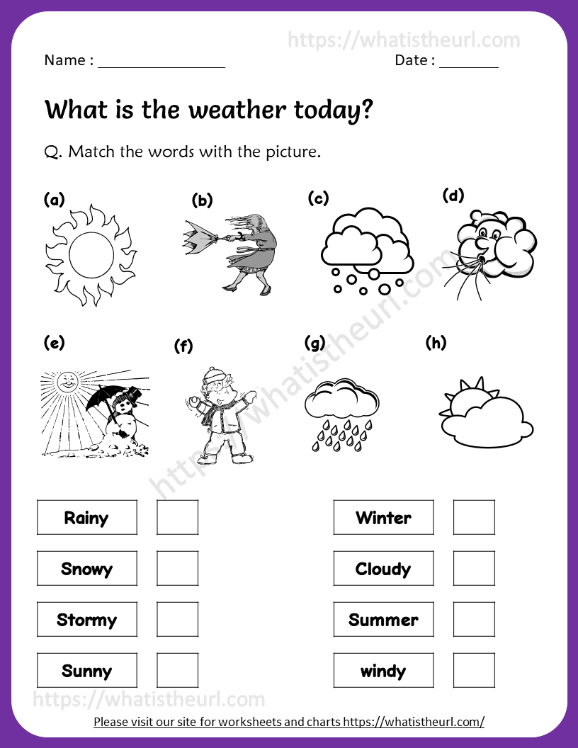 - Weather Worksheet For 3rd Grade - Your Home Teacher